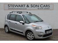 2010 10 CITROEN C3 PICASSO 1.6 PICASSO EXCLUSIVE HDI 1D 110 BHP DIESEL