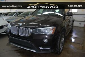 BMW X3 AWD xDrive28i-NAV-CAMERA-TOIT PANORAMIC 2015