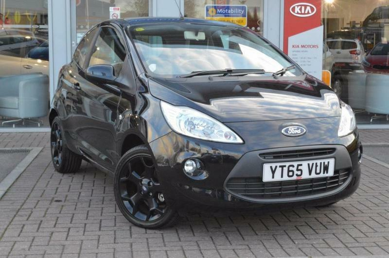 Ford Ka   Zetec Black Edition  Door Black