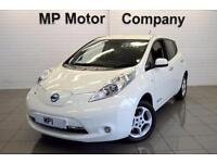 2015/15-NISSAN LEAF E ( 80KW ) AUTO ACENTA 5DR ELECTRIC HATCH, 35-000M FSH