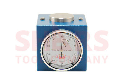 Shars Magnetic Z Axis Dial Zero Setter .0004 Gage Offset Cnc New