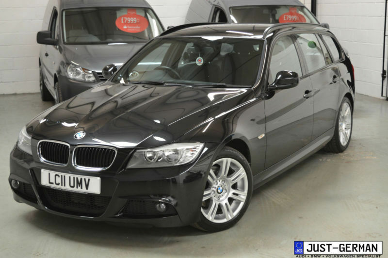 2011 bmw 3 series e91 320d m sport touring step auto 2 0 diesel estate black in wigan. Black Bedroom Furniture Sets. Home Design Ideas