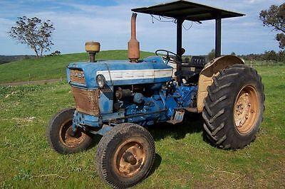 Ford Tractors 2000 3000 4000 5000 Gas Diesel Operators Op Owner Manual Cd