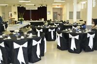 Wedding Chair Covers/Sashes/Tablecloths/Napkins