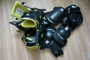 Roller Skates Size 9-11 (adult) with All Pads