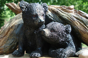 3-D Table Sculpture, Hand Crafted Baby Bears Belleville Belleville Area image 2