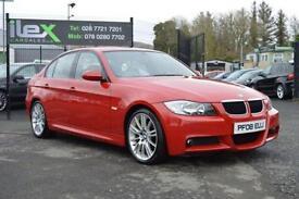 2008 08 BMW 3 SERIES 2.0 318D M SPORT 4D 141 BHP DIESEL