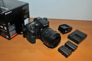 Like New Sony A77ii Body only - with 2 batteries /2 chargers
