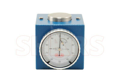 Magnetic Z Axis Dial Zero Pre Setter Tool 2 Height .0004 Gage Offset Cnc P
