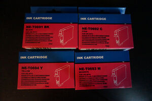 4 Compatible Epson 69 Ink Cartridges