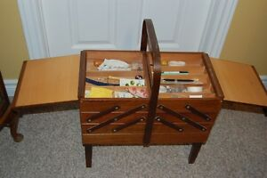 Vintage Sewing Box/Basket Cornwall Ontario image 4