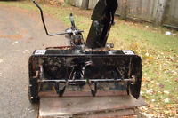 """42"""" Two Stage Snow Thrower Attachment"""