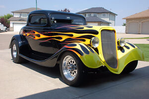 1933 Ford Pro Street 3 Window Coup