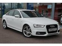 2013 AUDI A4 2.0 TDI 177 Quattro S Line S Tronic Auto NAV, LEATHER and DAB