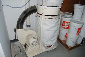 Jet dust collection system