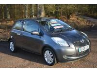 2008 TOYOTA YARIS 1.3 VVT i TR 3dr MMT Automatic ONLY 12,000 MILES