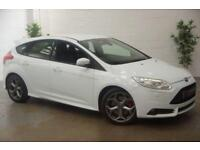 2013 13 FORD FOCUS 2.0 ST-3 5D 247 BHP FULL LEATHERS