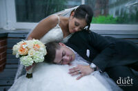 Reliable professional wedding photography & video service