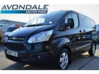 2015 FORD TRANSIT CUSTOM 290 LIMITED DCB CREW DOUBLE CAB VAN ONLY 14,000 MILES