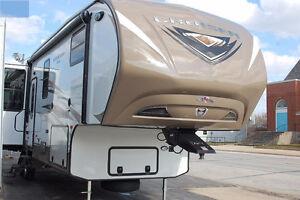 fifth wheel  bunk bed crossroad cruiser 35   2 chambres 2014