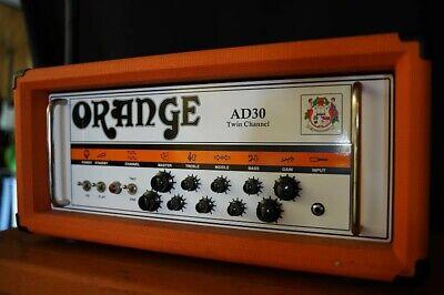 Orange AD30 twin channel head