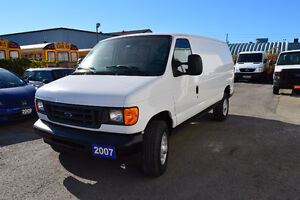 2007 Ford E-250 Cargo Van Accident Free Only 99 Km Oakville / Halton Region Toronto (GTA) image 3