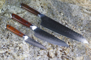 Damascus Chef Knives * Pre-Order*