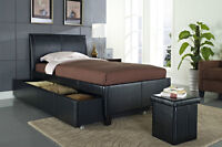 TWIN BED WITH TRUNDLE ON SALE NOW