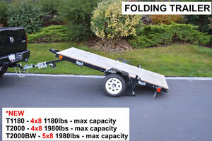 New in Box Folding Utility Trailer (SALE) Kingston