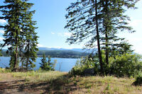 Prime lot with western exposure in Blind Bay!