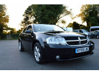 LATE 2009 59 DODGE AVENGER 2.0 CRD SXT TURBO DIESEL 6 SPEED MANUAL BLACK PX SWAP