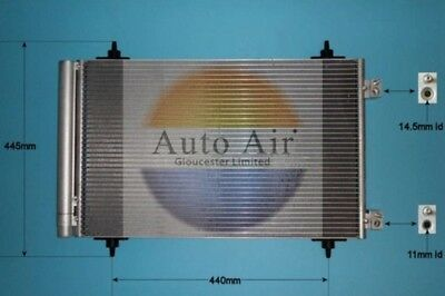 Fit with FIAT SCUDO Condenser air conditioning 16 9642 2L