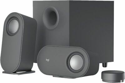 Logitech Z407 Bluetooth Graphit PC-Lautsprecher mit Subwoofer