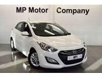 2012 12 HYUNDAI I30 1.4 ACTIVE 98 BHP 5DR 6SP HATCH, 60,000M, SH, 4 STAMPS,WHITE