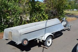 12 foot aluminum with ez loader trailer