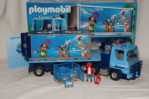 Playmobil Articulated Container truck (4447)