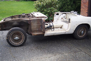 1966 MGB Roadster parts for sale