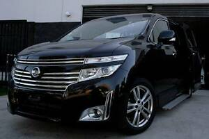 Nissan ELgrand E52 4WD 2.5L engine 2012 model Highway Star. Guildford Parramatta Area Preview