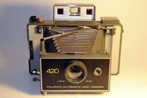Polaroid Automatic Land Camera 420