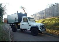 LAND ROVER DEFENDER 110 SINGLE CAB TIPPER 2.5 TD5 06 REG