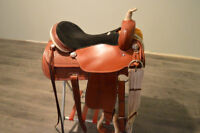 """17"""" Rocky Mountain Western All Purpose Saddle for Sale"""