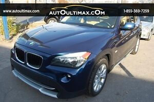 BMW X1 AWD-KEYLESS-NAV-SIEGES ELECTRIC-TOIT PANORAMIC 2012