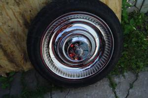 harley davidson roue avant  17 pouce shaft et spacer chromer