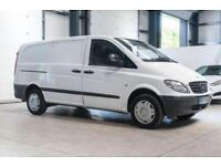 2006 56 MERCEDES-BENZ VITO 2.1 109 CDI LONG 87 BHP DIESEL PANEL VAN NO VAT