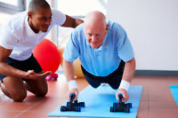 55+ Senior Population Specialized trainer- AT HOME