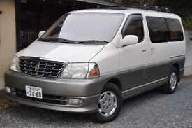 Toyota Granvia Grand Hiace direct Japan import supplied UK reg
