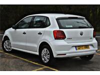 2017 Volkswagen Polo Match Edition 1.4 TDI 75PS 5-speed Manual 5 Door Diesel whi