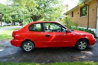 Hyundai Accent 2001 (manuelle)