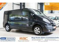 2013 13 VAUXHALL VIVARO 2.0 2700 CDTI SPORTIVE 113 BHP *FINISHED IN BLACK* DIESE