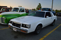 Last Chance! 1986 Buick Regal T-Type(Grand National) $7500